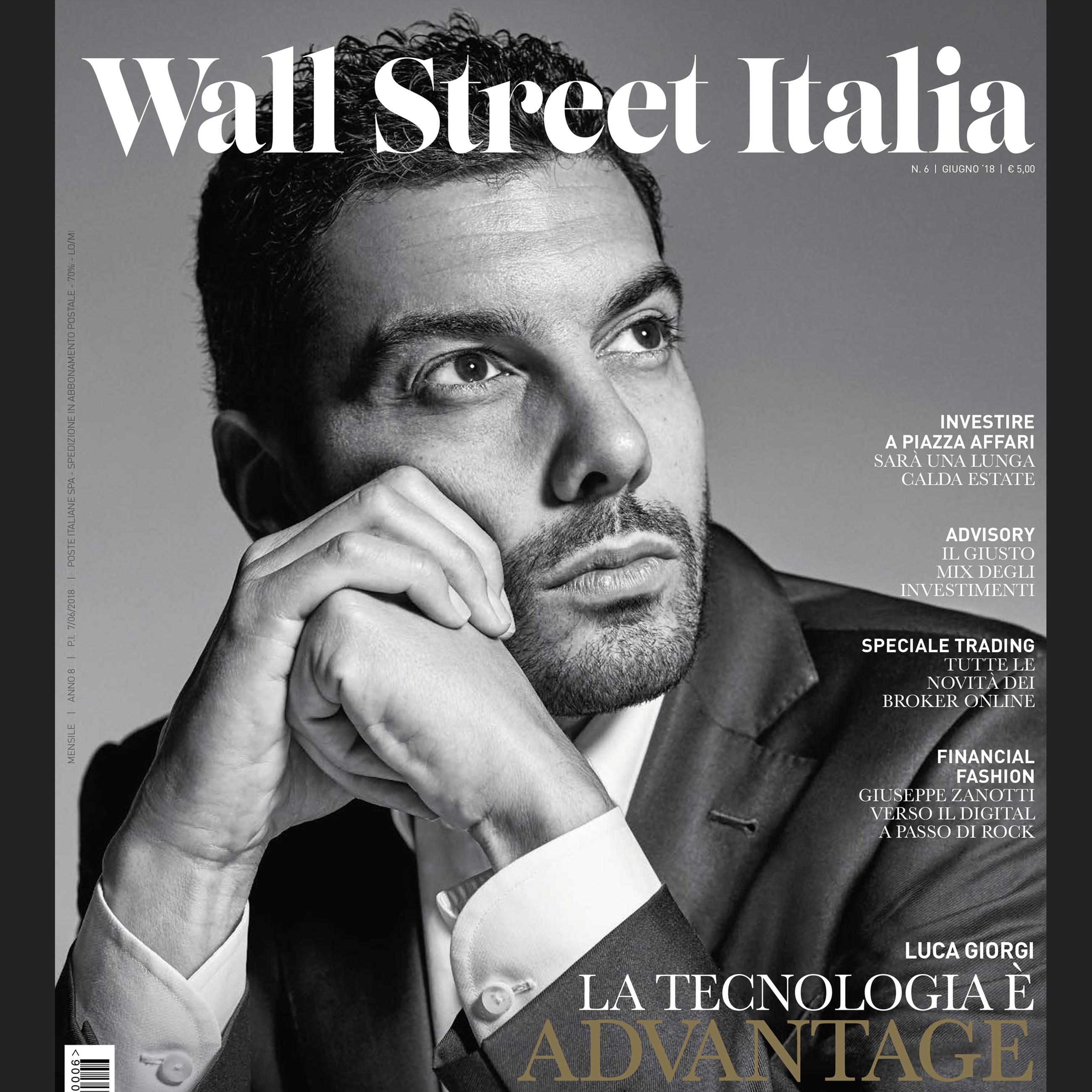 In edicola il numero di giugno di wall street italia for Numero senatori e deputati in italia