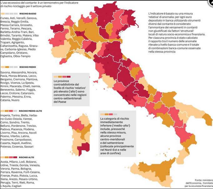 Nuova Fonte Del Materasso Bologna.Italia Nuota Nel Contante 86 Transazioni In Cash Proposta Lega